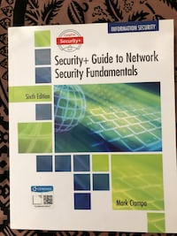 CompTIA security+ Guide to Network security fundamentals Toronto, M2J