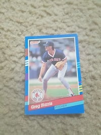 greg harris collectible card Fresno, 93706