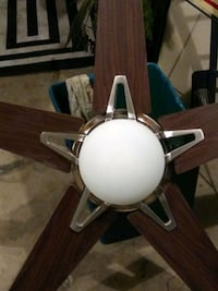 52 inch ceiling fan with light and remote control