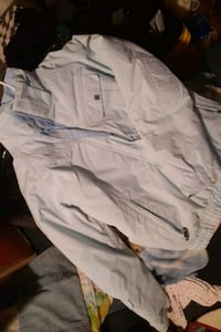 Large convert boardwear. Com snowboarding jacket baby blue no stains