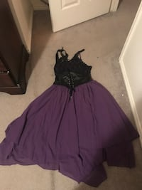 Purple Gothic Corset Dress Salt Lake City, 84105