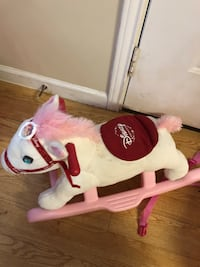 white and red rocking horse Loxley, 36551