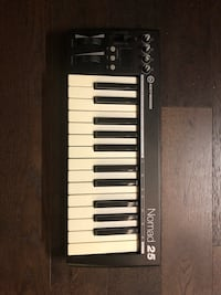 black and white electronic keyboard Toronto, M6J 3K6