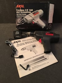 """SKIL Cordless 3/8"""" Drill and Screwdriver Vintage Exc Cond  Henderson, 89014"""
