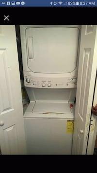 white stackable washer and dryer Bloomingburg, 12721