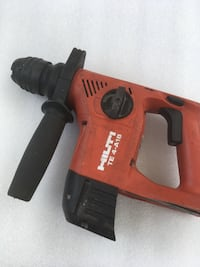 black and red Hilti cordless hand drill Springfield, 22151