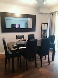 Dining table with 6 chairs Burlington, L7T 0A4