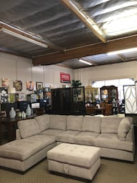 Brand New 2pc Sectional with Storage Ottoman $699, No credit check finance available Sacramento, 95835