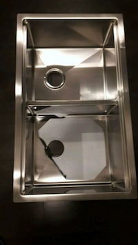 "Stainless Steel Double Bolw Kitchen Sink 32"" 19"" 10"" Mississauga, L5M 0P4"