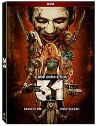 Rob Zombie 31 DVD. Mint Condition  Woodstock, N4S 8S5