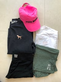 Victoria's Secret/ Pink clothes XS (5 items) all for $15 Los Angeles, 91326
