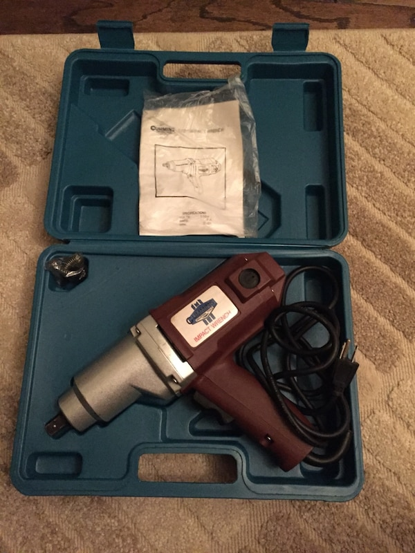 Mins 1 2 Electric Impact Wrench
