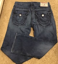 Authentic True Religion men's blue denim jeans Calgary, T2J 1V5