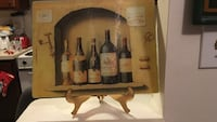 Wine bottle glass cutting board with stand Wilmington, 28403