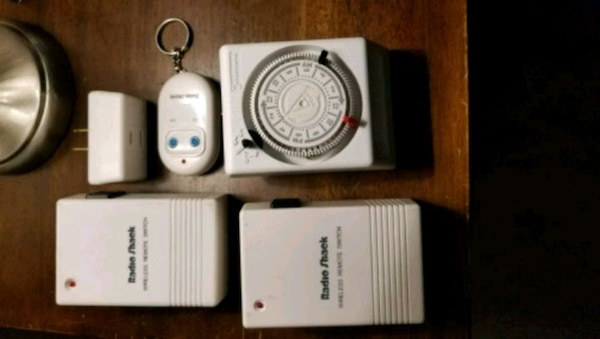 Wireless remotes and timer can be used on anything