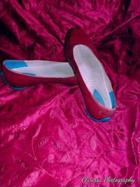 ECO RED LEATHER SHOES