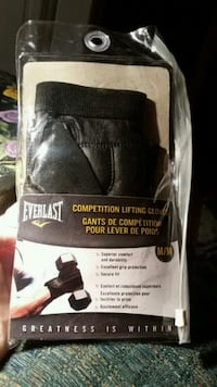 Competition Lifting Gloves size M - New