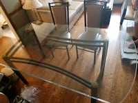 Glass Kitchen Table Mississauga, L5M 3A9