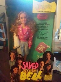Jessie saved by the bell doll box Los Angeles, 90035