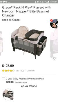 Graco pack n play with mattress  Clayton, 27520