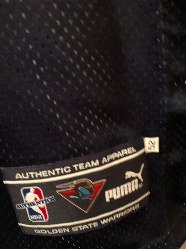 Used Vintage authentic Warriors jersey size 52 BRAND NEW for sale in ... 9c9d9109f