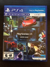 Playstation VR Demo Disc ROCKVILLE