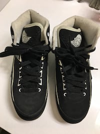 pair of black-and-white Nike sneakers Rockville, 20850