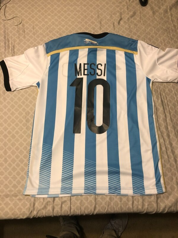 041497c4b6a Used white and blue adidas jersey for sale in Oviedo - letgo