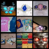 Toys clothes jewelry