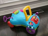 Toddler ride on and push toy  Burlington, L7L 0G1