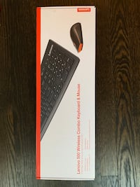 Wireless keyboard and mouse (Lenovo 500)