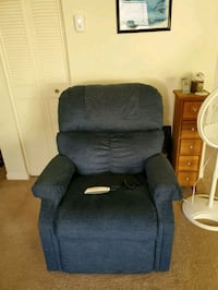 Power lift chair reclines