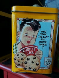 Toll house cookie tin Lancaster, 93536
