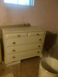 white wooden 3-drawer chest Ipswich, 01938