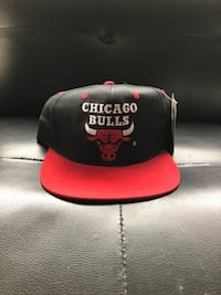 black and red Chicago Bulls fitted cap Vancouver, V5L