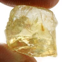 9.67 Light Yellow Rough Citrine Vernon