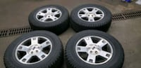 Rims and tires Ford F150 4X4 6 Lug