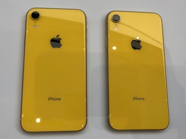Gold iPhone XR