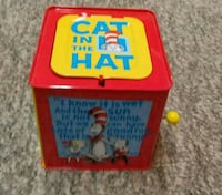 Vintage Cat In The Hat Music Box Graham, 27253
