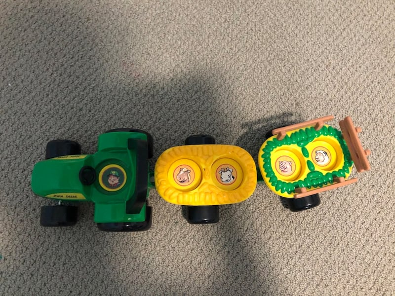 John Deere Toy Car 1