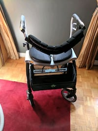 baby's black and gray stroller Vaughan, L4H 1C3