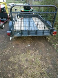 Lawn mower and trailer for sale can be purchased separately