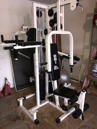 Black and white gym equipment... Discounted price only for seven days ends On November 8, this is a GREAT DEAL. Chicago Heights, 60411