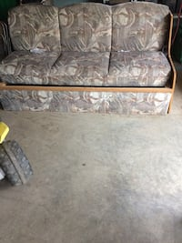 gray and brown cushion 3 seater couch Kitchener, N2H 1T5