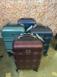 New Rolling Carry On Luggage ???? Multiple Colors Available ✈️ Chino, 91710