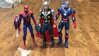 Captain America, Spider-Man and The Mighty Thor action figures Laval, H7V