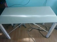 rectangular white wooden folding table Edmonton, T6L 4E5