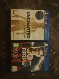 Ps4 uncharted collection + Fifa 14 Yenişehir, 34779