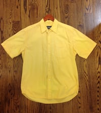 Eddie Bauer men's yellow shirt - Large Wayland, 01778