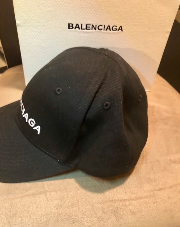 48170ffdbca8a Used Balenciaga Logo Hat for sale in New York - letgo